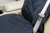 Image may not reflect your exact vehicle! Pet Pad® - Navy Blue Bucket Seat Protector