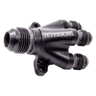 Peterson Fluid Systems® - Billet 4 Way Manifold