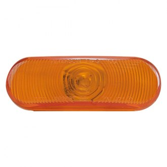 "Peterson® - 421 Series 6.5""x2.25"" Oval Amber Crystal Turn Signal Light"