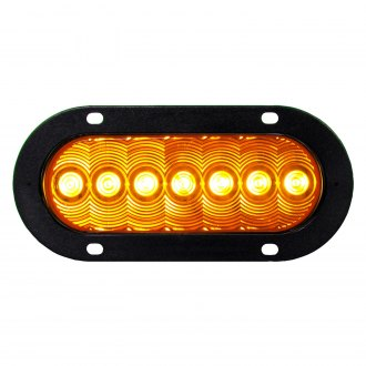 "Peterson® - LumenX™ 6.5""x2.25"" Rectangular Amber LED Turn Signal Light"