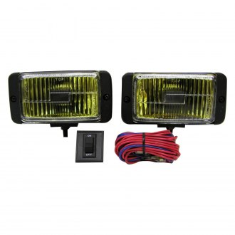 "Peterson® - 552 Nightwatcher 5.63""x2.88"" Rectangular 55W Yellow Factory Style Fog Lights"