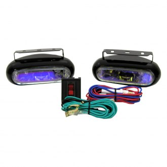 "Peterson® - 582 Nightwatcher Ion 5.5""x2.38"" Slim Oval 55W Fog Lights"