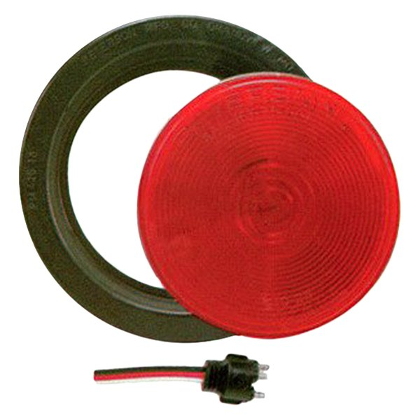 "Peterson® - Round 4"" Red Stop-Turn Tail Light"