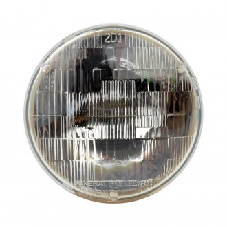 "Philips® - 7"" Round Chrome Factory Style Sealed Beam Headlight"