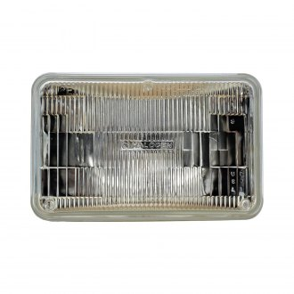 "Philips® - 4x6"" Rectangular Chrome Factory Style Sealed Beam Headlight"