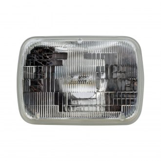 "Philips® - 7x6"" Rectangular Chrome Factory Style Sealed Beam Headlight"