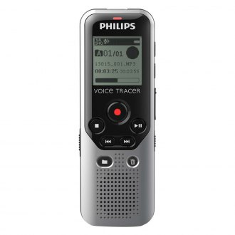 Philips® - Voice Tracer DVT1200 4GB Digital Voice Recorder