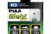 PIAA® - Night-Tech Halogen Replacement Bulbs (H3)