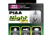 PIAA® - Night-Tech Halogen Replacement Bulbs (9006 / HB4)