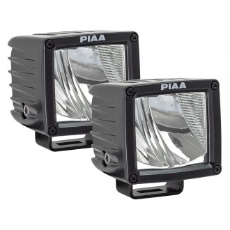 "PIAA® - RF-Series SAE Rotating Bracket Mount 3"" 17W Cube Driving Beam LED Lights"
