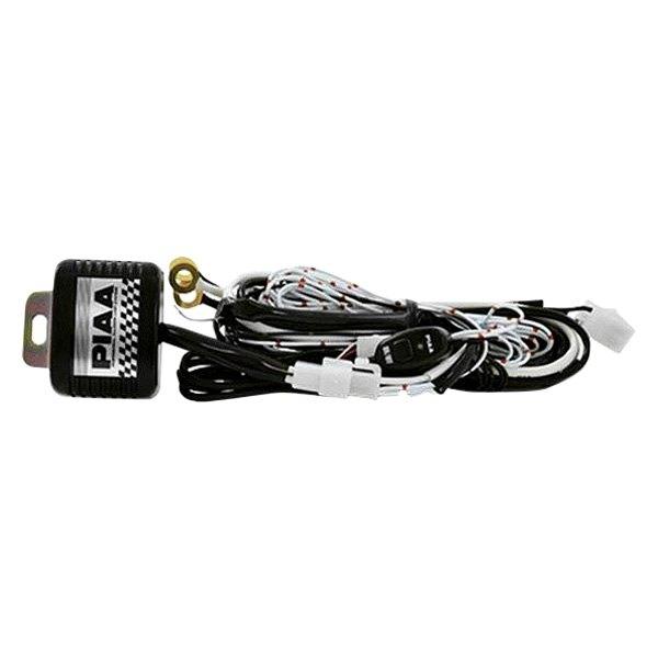 piaa 34260 wiring harness for lr21 single filament lights rh carid com  piaa wiring harness diagram