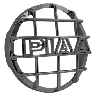 "PIAA® - 6"" Round Plastic Light Grille with PIAA Logo for 520 Series"