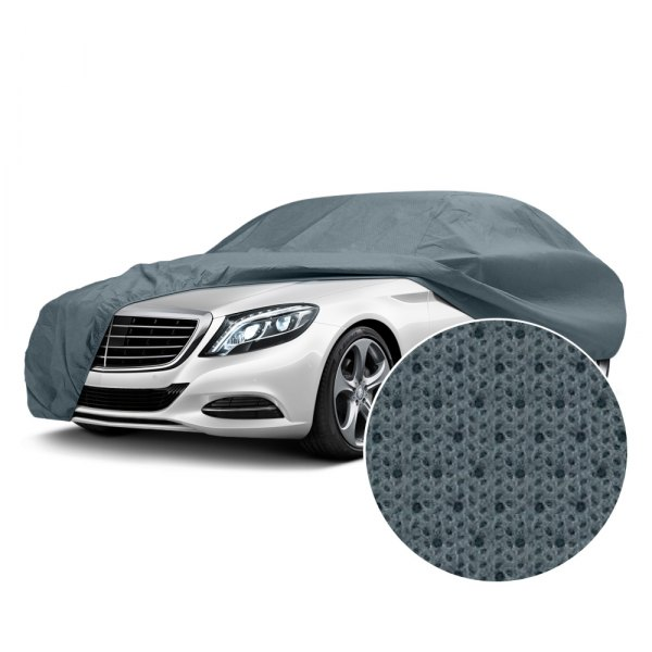 Image may not reflect your exact vehicle! Pilot® - Gray Quadra-Tech Four Layer Car Cover