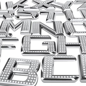Pilot® - Bling Chrome Letter