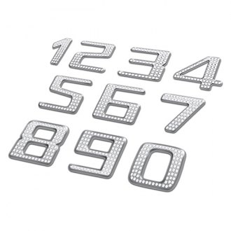 Pilot® - Bling Chrome Number