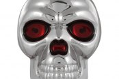 Pilot® - Skull with Red Eyes Emblem