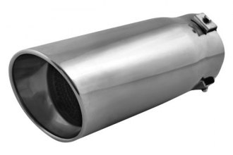 Pilot® - Stainless Steel Bolt-On Round Slant Cut Resonated Tip