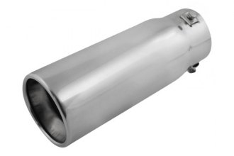 Pilot® - Stainless Steel Bolt-On Round Resonated Tip
