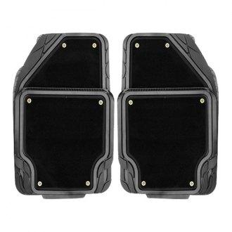 Pilot® - Platinum Black 1st and 2nd Row Floor Mats Set
