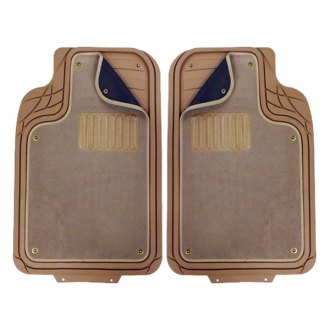 Pilot® - Platinum Tan 1st and 2nd Row Floor Mats Set