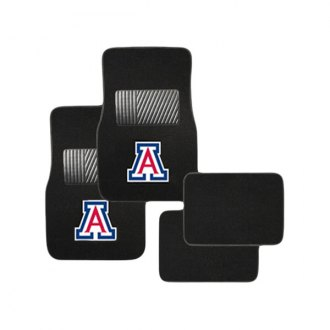 Pilot FM-917 - Collegiate 1st and 2nd Row Floor Mats Set with Arizona Logo