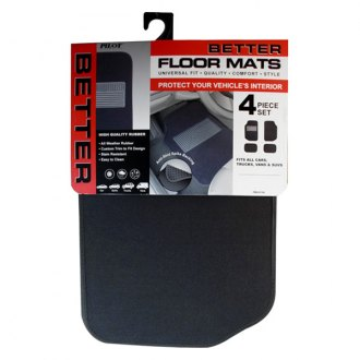 Pilot® - Heavy Duty Carpet Floor Mats with Rubber