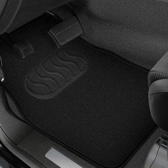 Black Coverking Custom Fit Front Floor Mats for Select Chevrolet Bel Air Models Nylon Carpet