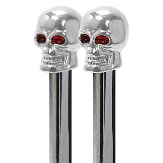 Pilot® - Chrome Skull Door Lock Pins