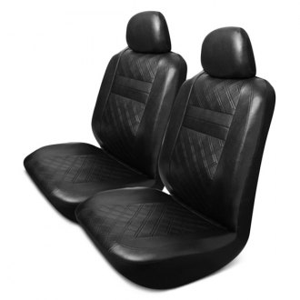 Pilot® - Synthetic Leather Black Seat Covers