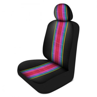 Pilot® - Black Saddle Print Seat Cover