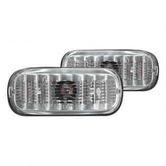 Pilot® - Chrome/Smoke Crystal Side Marker Lights