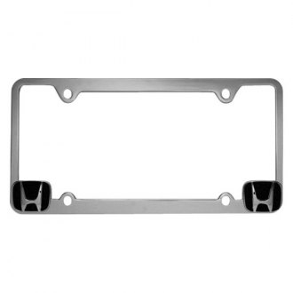 Pilot® - Chrome License Plate Frame with Honda Logo