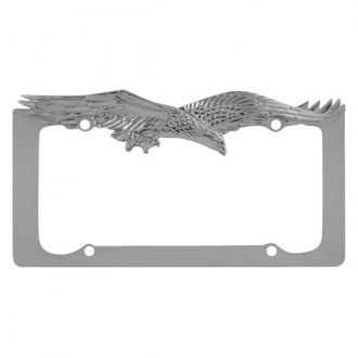 Pilot® - License Plate Frame with Eagle Logo