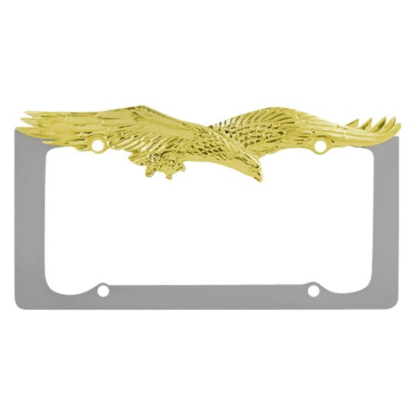 pilot license plate frame with eagle logo - Eagle License Plate Frame