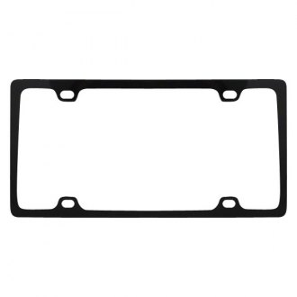 Pilot® - 4-Hole Mount Slim License Plate Frame