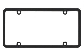Pilot® - 4-Hole Mount Square Top License Plate Frame