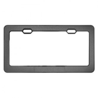 Pilot® - Chrome License Plate Frame with Powder Metallic