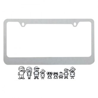 Pilot® - Family License Plate Frame