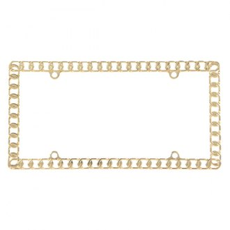 Pilot® - Chain Gold License Plate Frame