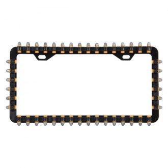 Pilot® - Bullet Black License Plate Frame