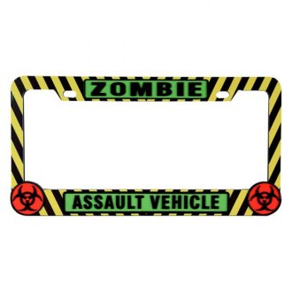 Pilot® - Zombie Caution License Plate Frame