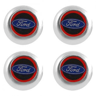 Pilot® - License Plate Fastener Caps with Dodge Logo