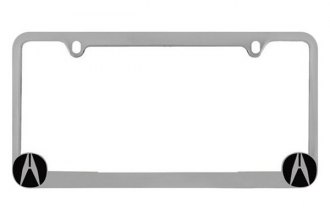 Pilot® - Acura Logo on Chrome License Plate Frame