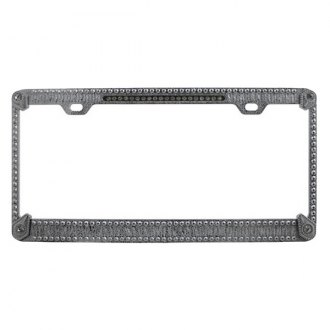 Pilot® - Auto Ice License Plate Frame with Diamonds