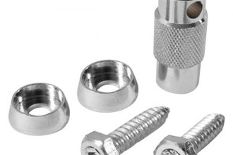Pilot® - Crystal License Plate Fastener Locks