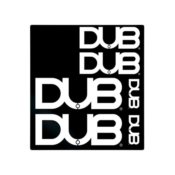 "Pilot® - Dub 6"" x 8"" Decal Kit"