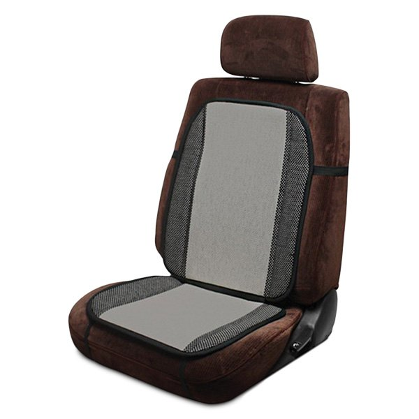 Pilot Automotive SC-274G Black and Gray Seat Cushion