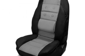Pilot® - Racing Style Gray Seat Cover