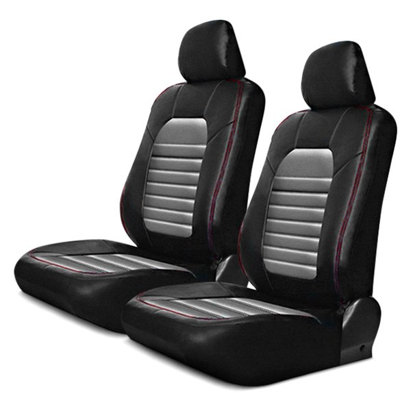pilot super sport synthetic leather seat covers. Black Bedroom Furniture Sets. Home Design Ideas