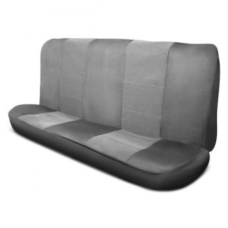 Pilot® - Gray Micro Tweed Seat Cover